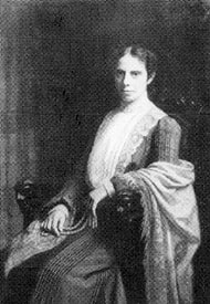 Alice Stone Blackwell in sophisticated dress