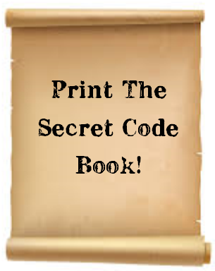 scroll that says print the secret code