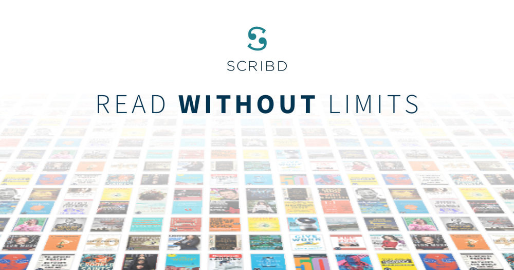 Link to scribd free 30 day promotion