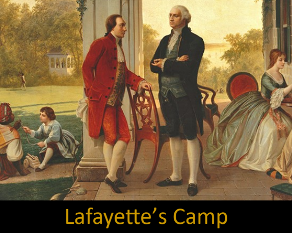 link to lafayette's camp clue