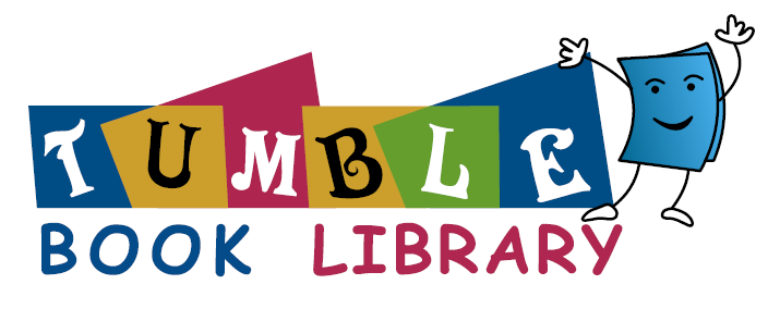 Logo and link to tumble book library